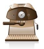 Máquina del café express ilustración del vector