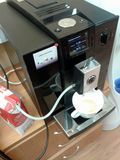 Máquina del café del grano Imagen de archivo