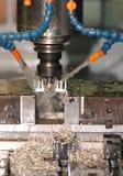 Máquina del CNC Foto de archivo