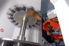 Máquina del CNC Imagen de archivo libre de regalías