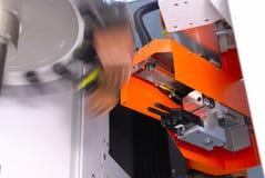 Máquina del CNC Fotografía de archivo