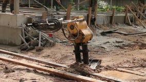 Máquina del compresor del suelo metrajes