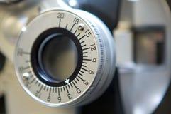 Máquina del cuidado del ojo Foto de archivo libre de regalías