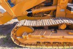 Máquina del graduador de los terraplénes Foto de archivo libre de regalías