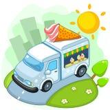 Máquina del helado Imagen de archivo