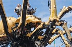Máquina del La en Ottawa, Canadá 2017 - Kumo Imagen de archivo libre de regalías