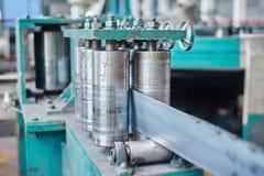Máquina del laminador para la hoja de acero rodante Imagen de archivo libre de regalías