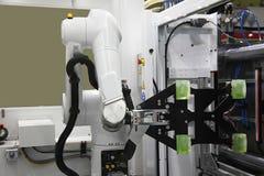 Máquina del moldeo a presión fotografía de archivo
