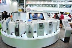Máquina del oxígeno del salto de Shimadzu Foto de archivo libre de regalías