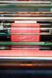 Máquina del recubrimiento plástico fotografía de archivo libre de regalías