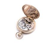 Máquina del reloj de bolsillo Foto de archivo libre de regalías