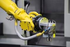 Máquina del robot industrial Imagen de archivo libre de regalías