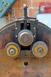 Máquina del rodillo del hierro Foto de archivo libre de regalías