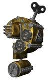 Máquina del signo de interrogación Imagen de archivo libre de regalías