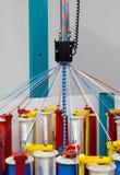 Máquina del tejido de la cuerda Foto de archivo
