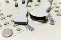 Máquina del ultrasonido Imágenes de archivo libres de regalías