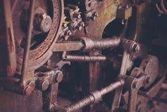 Máquina del vintage Foto de archivo