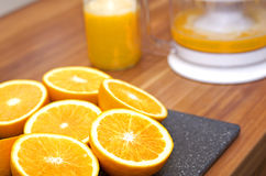 Máquina del zumo de fruta fotografía de archivo