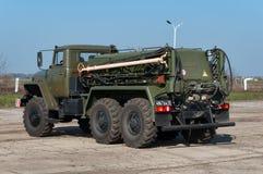 Máquina do aeródromo APA-4 para o aircraf de lançamento Imagens de Stock Royalty Free
