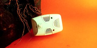 máquina do assassino dos mosquitos para a foto conservada em estoque do uso da casa fotos de stock royalty free