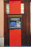 Máquina do ATM foto de stock