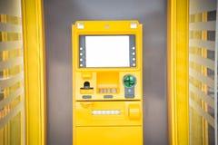 Máquina do ATM/caixa automatizado foto de stock