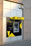 Máquina do ATM do banco Imagens de Stock
