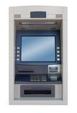Máquina do ATM - vista dianteira Fotos de Stock Royalty Free