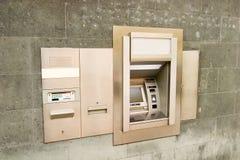 Máquina do banco fotos de stock