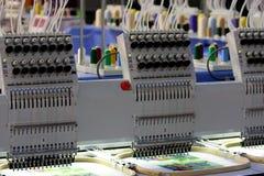 Máquina do bordado Fotografia de Stock Royalty Free
