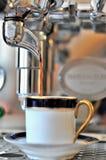Máquina do café Fotografia de Stock Royalty Free