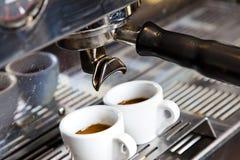 Máquina do café Imagens de Stock