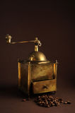 Máquina do café da antiguidade Fotografia de Stock