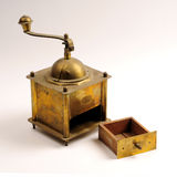 Máquina do café da antiguidade Fotos de Stock Royalty Free