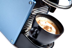 Máquina do café de Expresso Fotografia de Stock Royalty Free
