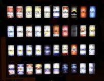 Máquina do cigarro Fotografia de Stock