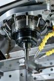 Máquina do CNC Fotos de Stock Royalty Free