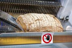 Máquina do cortador do pão Imagens de Stock