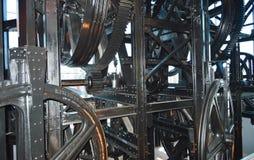 Máquina do elevador da gôndola Fotografia de Stock Royalty Free
