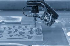 A máquina do jato de água fotos de stock