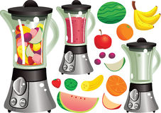Máquina do Juicer Fotos de Stock Royalty Free
