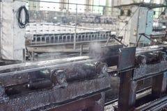 Máquina do moinho de rolamento para as tubulações de rolamento Foto de Stock