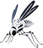 Máquina do robô, mosquito do inseto, isolado ilustração royalty free