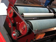 Máquina do Vulcanization Fotos de Stock Royalty Free