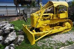 Máquina em Kinta Tin Mining Museum em Kampar, Malásia Fotos de Stock