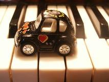 Máquina en claves Foto de archivo libre de regalías