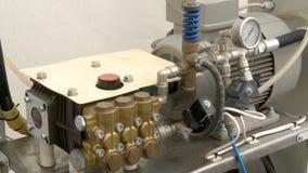 Máquina en la opinión industrial del invernadero metrajes