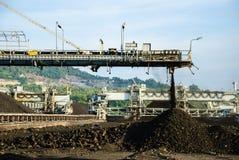 Máquina en reserva del carbón Imagen de archivo