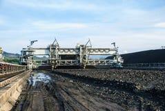 Máquina en reserva del carbón Fotografía de archivo libre de regalías