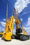 Máquina enorme de la construcción Fotos de archivo